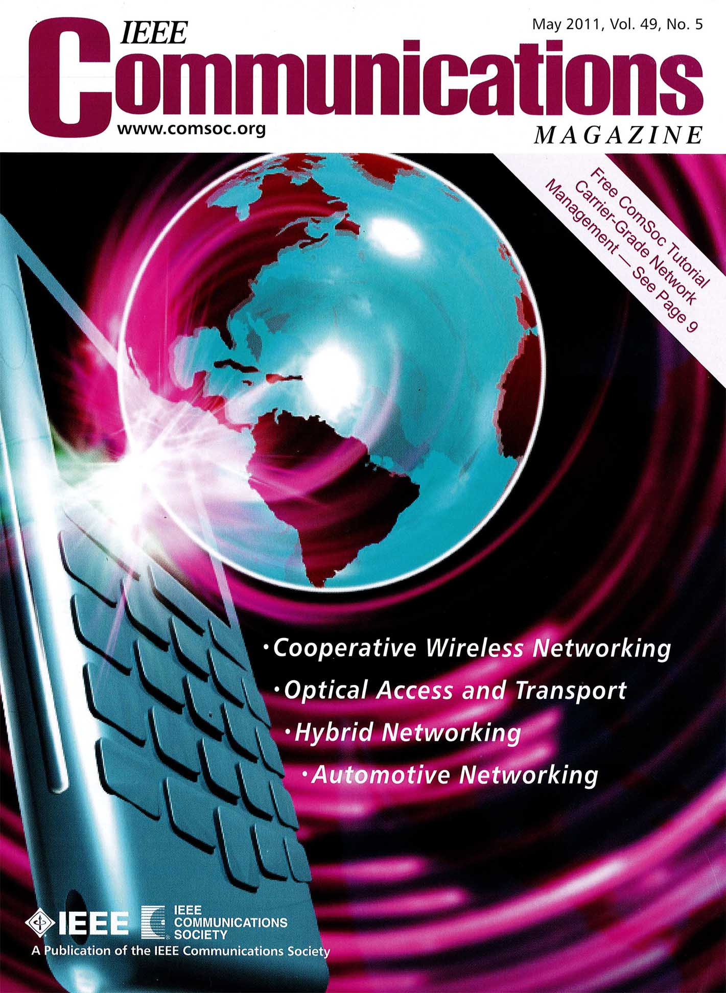 IEEE Communications Magazine Focuses on Hybrid Networking  Special Issue  Features 3 ESnet Co-authored Articles 92987bede